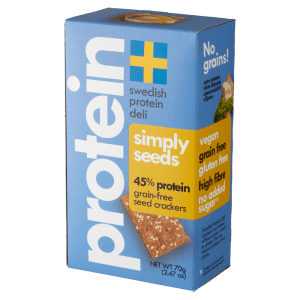 Seed crackers Swedish Protein Deli Simply Seeds